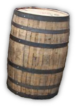 The barrel Man of Maine